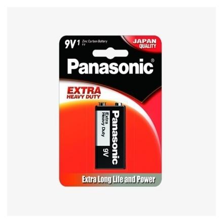 Picture of Panasonic 6F22NPT Extra Heavy Duty Manganese Battery, 6F22NPT