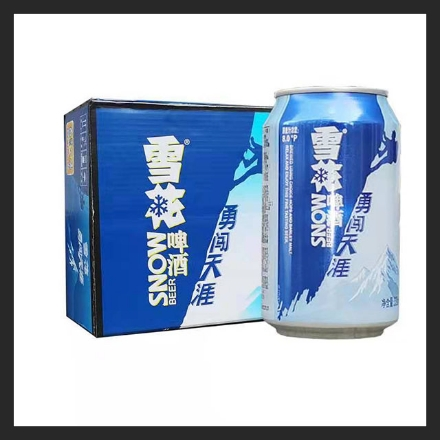 Picture of Snowbeer (8 Degrees, 10 Degrees) Brave Cross The Horizon 330ml (can) 1 can, 1*24 cans