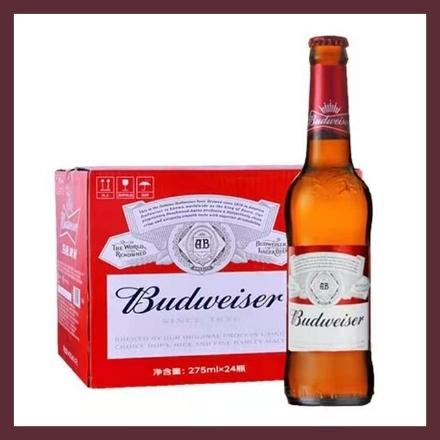 Picture of Budweiser (Bottle) 275ml, 1 bottle, 1*24 bottle