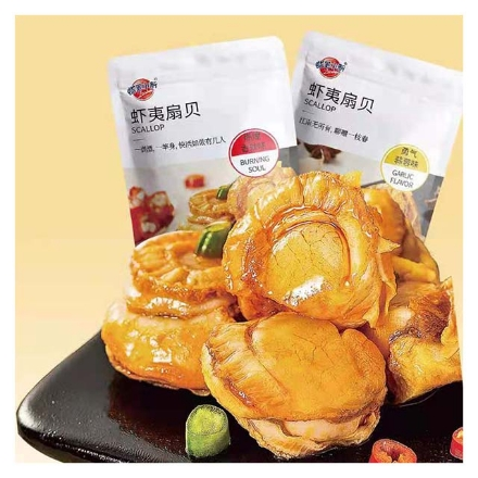 Picture of Crayon Shin-Chan Scallop (spicy,Garlic) 60g,1 pack,1*24 pack