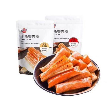 Picture of Crayon Shin-Chan Crab Stick Spicy 96g, 1 pack, 1*30 pack