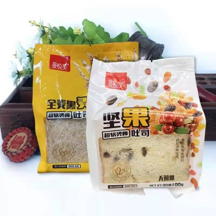 Picture of Manyuefu toast, Flavor (rye toast,nut toast) 100g,1 pack, 1*30 pack