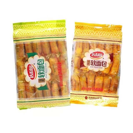 Picture of Daliyuan French Soft Bread,flavor(Orange Flavor, Milk Flavor) 360g,1 package