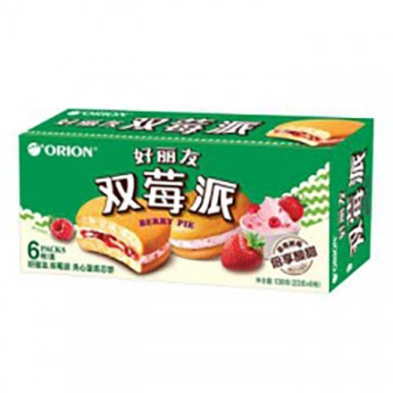 Picture of Orion cake(Dual Raspberry Pie) 6 pieces,1 box, 1*16 box
