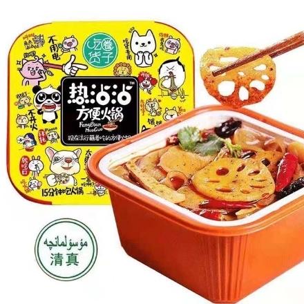 Picture of Chihuoquanzi self-heating hot pot (hot dip),1 box, 1*24 box