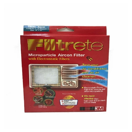 """Picture of 3M FILTRETE(TM) AIRCON FILTER VALUE PACK 15"""" X 90"""" Add to Inquiry Basket"""