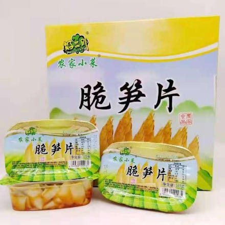 Picture of Farm side dishes crispy bamboo shoots 170g,1 box, 1*12 box