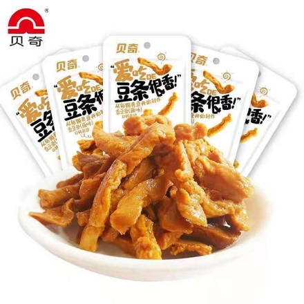 Picture of Beiqi bean sticks very fragrant,flavor(original,spicy)48g,1 pack, 1*50 pack