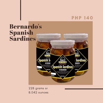 Picture of Bernardo's Spanish Sardines