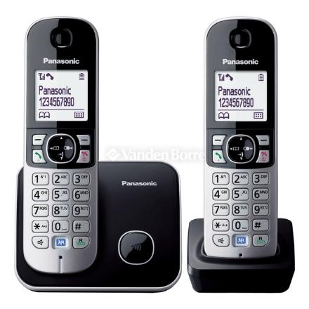 Picture of Panasonic KX-TG6812CX5 Twin Handset Telephone, KX-TG6812CX5