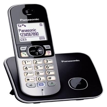 Picture of Panasonic KX-TG6811CX5 Single Handset Telephone, KX-TG6811CX5