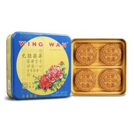 Picture of Wing Wah White Lotus Seed Paste Mooncake (2 Yolks)