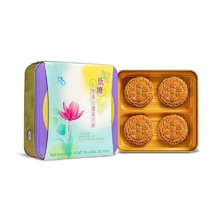 Picture of Wing Wah Low Sugar White Lotus Seed Paste Mooncake (2 Yolks)