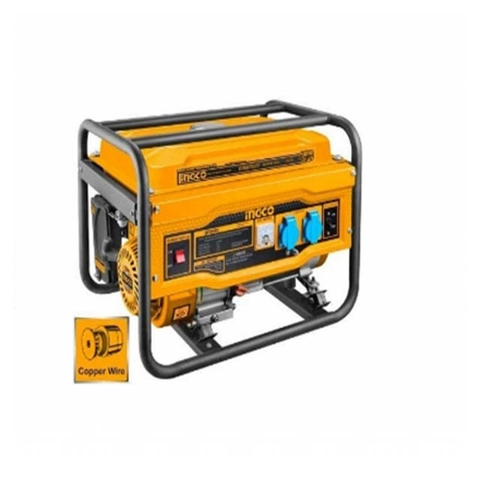 INGCO 3.5kva Portable Gasoline Generator, GE35005-5P
