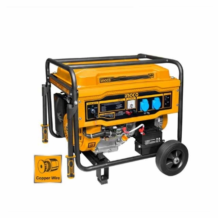 INGCO 6500W 6.5KVA Gasoline Generator, GE65003-5P
