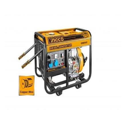 INGCO 6KVA Diesel Generator 15L•BUILDMATE• IPT, GDE60001-5P