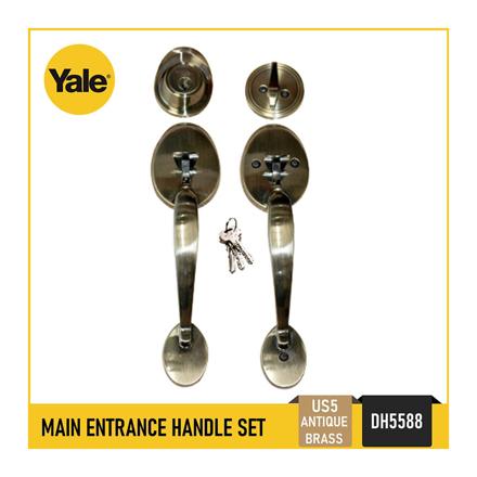 圖片 Yale DH5588 US5, DH5588 US15, Single Cylinder Tubular Double Handle Set, DH5588_US5