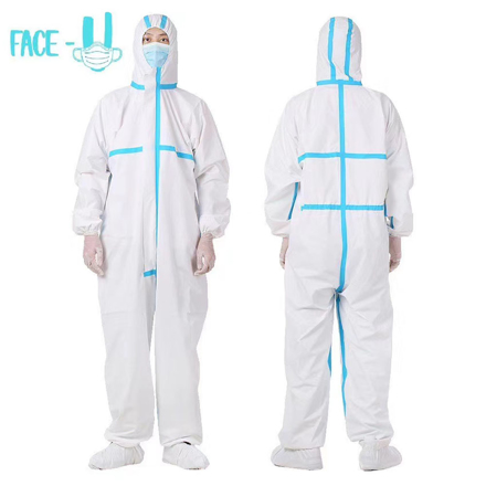 图片 PPE Cover all suit  ( Personal Protective Equipment)