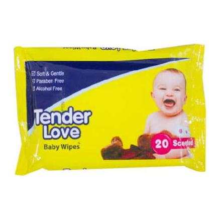 圖片 Tender Love Baby Wipes Scented, TEN06