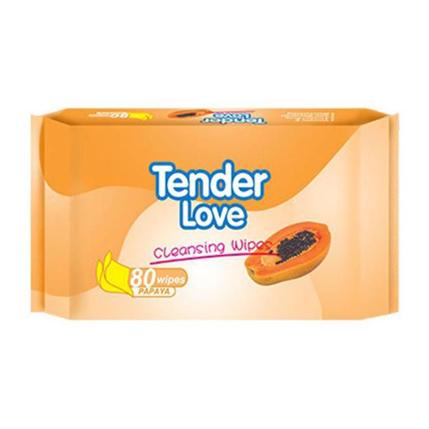 圖片 Tender Love Papaya Cleansing Wipes, TEN08