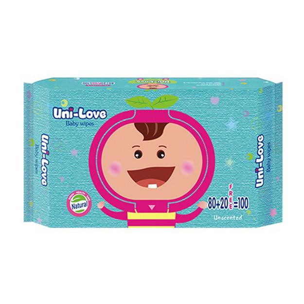 圖片 Uni-Love Unscented Wipes, UNI08