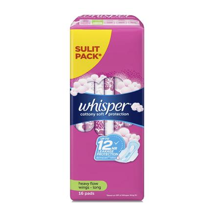 圖片 Whisper Cotton Clean Regular Flow Wings, WHI177
