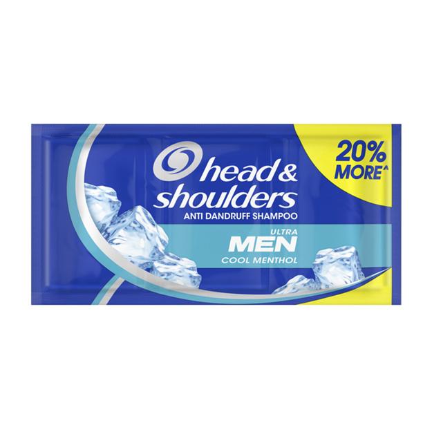 圖片 Head & Shoulders Cool Menthol Anti-Dandruff Shampoo for Men 12ML, HEA15
