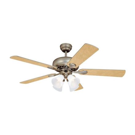 """圖片 Westinghouse Swirl Deluxe 52"""" Brushed Pewter Ceiling Fan, WH5SW52BP4"""
