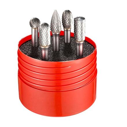Dormer Carbide Burr Set (5pcs), P88001 の画像