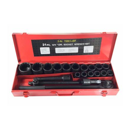 圖片 S-Ks Tools USA Impact Socket Set (Black), 34-2100B