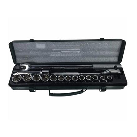 圖片 S-Ks Tools USA Socket Wrench Set (Chrome), A-17