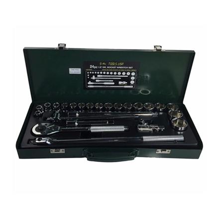 圖片 S-Ks Tools USA Socket Wrench Set (Chrome), A-24