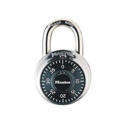 """圖片 Master Lock Combination Padlocks 3/4"""" Shackle, 1505D"""