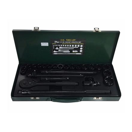 圖片 S-Ks Tools USA Socket Wrench Set (Black), B-24