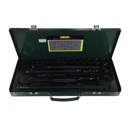 圖片 S-Ks Tools USA Socket Wrench Set (Black), B-25