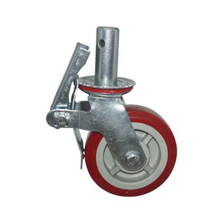 """圖片 Caster Wheel PVC 8"""", CWPVC8"""""""