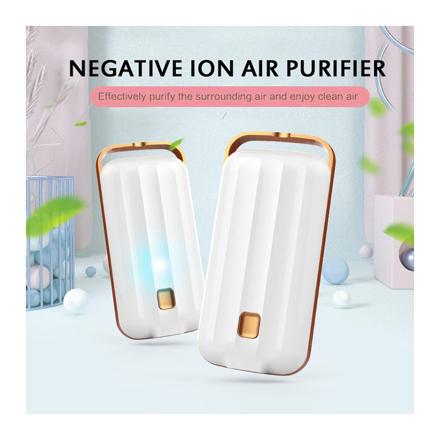 圖片 Anion Air Purifier Necklace Portable, Air Purifier Small Neck, Air Purifier Prevent PM2.5 Formaldehyde Necklace, UE04AIRF2