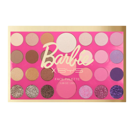 圖片 BYS x Barbie 27 Pc Face Palette (Livin' the Dream), CO/FPO27B