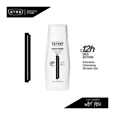 圖片 Str8 Shower Gel 400 ml Detox Power, 8571027208