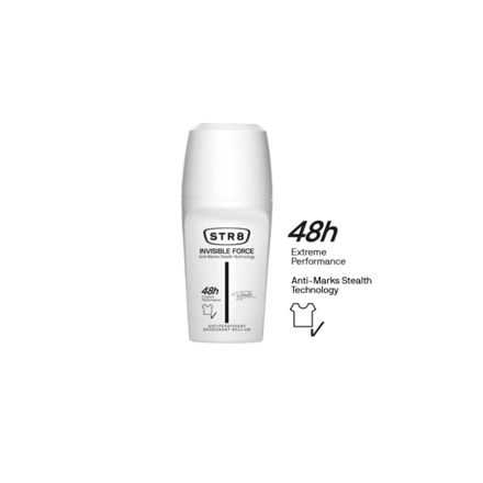 Picture of Str8 Deodorant Roll On 250 ml Invisible Force, 8571027205