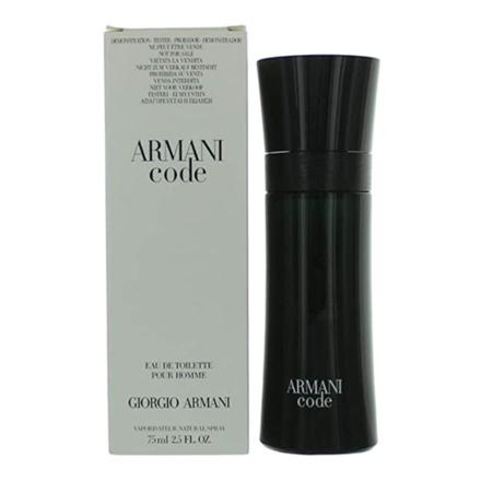 圖片 Giorgio Armani Code Black Tester 75 ml, GIORGIOARMANITESTER