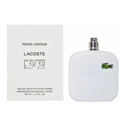 圖片 Lacoste Pure Blanc Men Tester 100 ml, LACOSTEPURETESTER