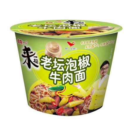 圖片 Tongyi Yi Chili Pickle Flavor Noodles, Instant Bowl Beef Noodle