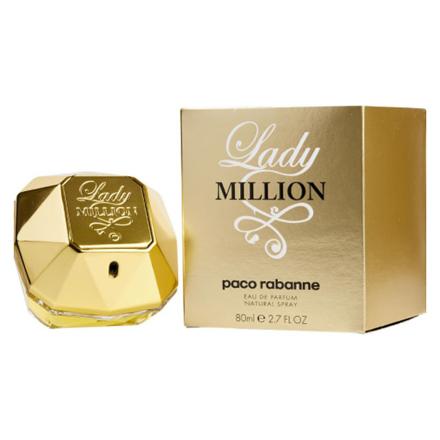 圖片 Paco Rabanne Lady Million Women Authentic Perfume 80 ml, PACORABANNELADY
