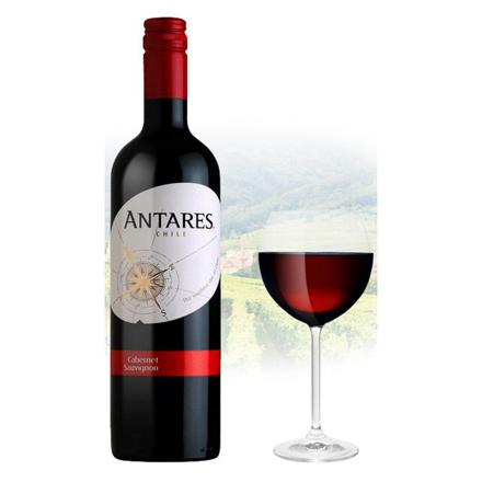 图片 Antares Cabernet Sauvignon Chilean Red Wine 750 ml, ANTARESCABERNET