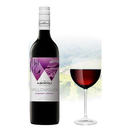 图片 De Bortoli WillowGlen Cabernet & Merlot Australian Red Wine 750 ml, DEBORTOLICABERNET