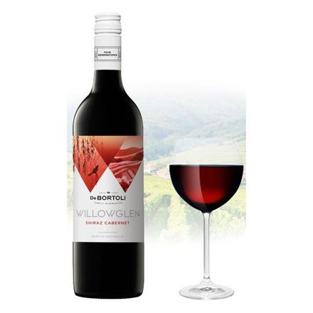图片 De Bortoli WillowGlen Shiraz & Cabernet Australian Red Wine 750 ml, DEBORTOLISHIRAZ
