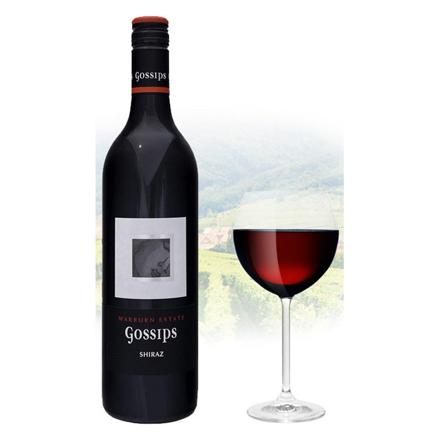 图片 Gossips Shiraz Australian Red Wine 750 ml, GOSSIPSSHIRAZ