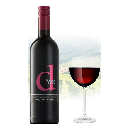 图片 D'vine Cabernet Sauvignon & Merlot South African Red Wine 75 ml, D'VINECABERNET