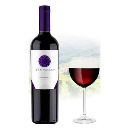 图片 San Valley Carmenere Chilean Red Wine 750 ml, SANVALLEYCARMENERE